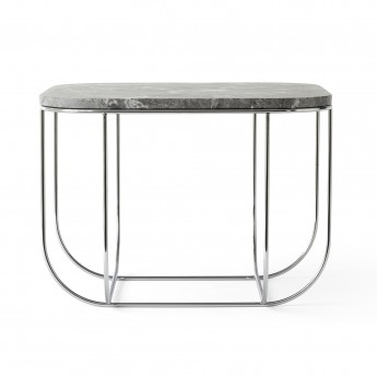 Table CAGE - Marbre blanc