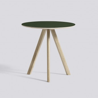 Table ronde Copenhague modèle 20 - Ø 50 x H 49 cm
