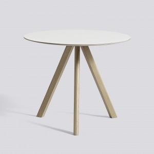 Table ronde Copenhague modèle 20 - Ø 90 x H 74 cm