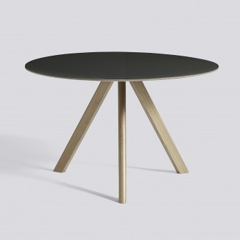 Table ronde Copenhague modèle 20 - Ø 120 x H 74 cm