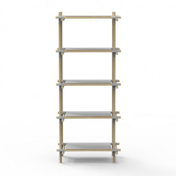 Shelf STICK SYSTEM 1X2 - Grey