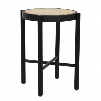 Stool WEBBING - Black