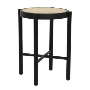 WEBBING Stool - Black