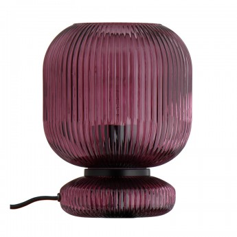 MAIKO purple table lamp