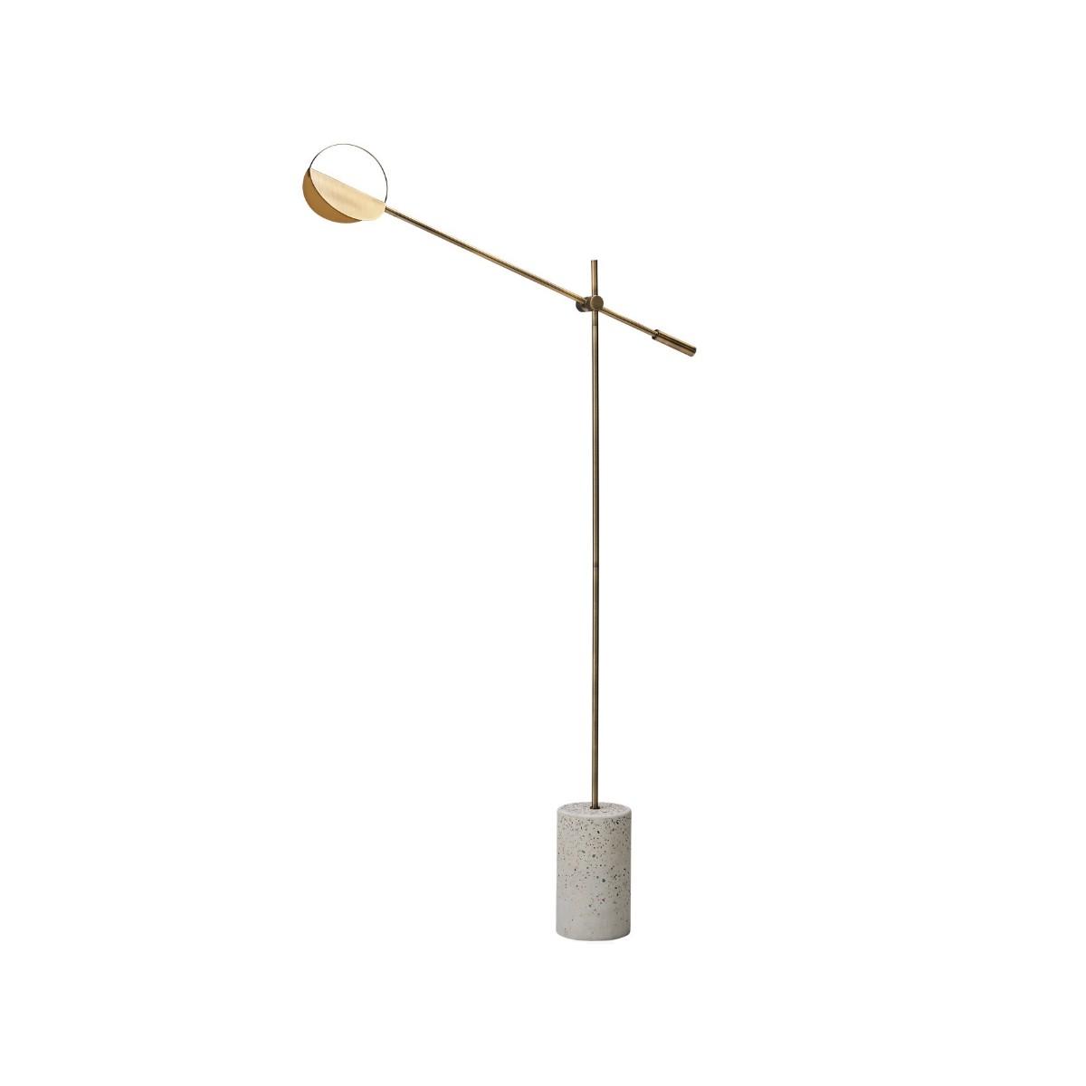 Leaves Brass Floor Lamp Bolia