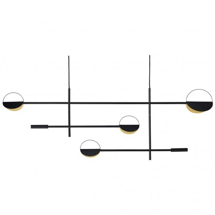 LEAVES black pendant lamp