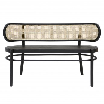 WEBBING Bench - Black