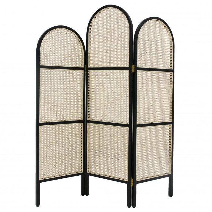WEBBING Room divider - Black