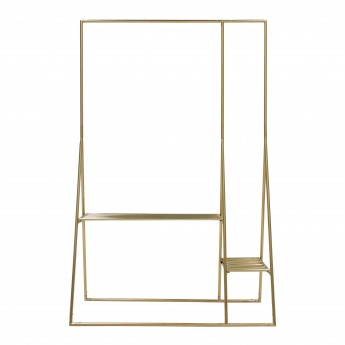 Clothing rack - Brass