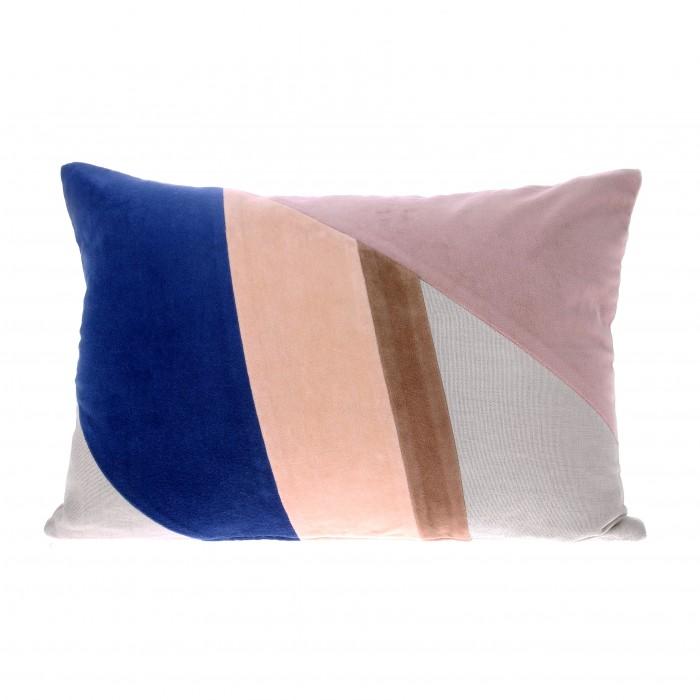 VELVET PATCH Cushion - Multicolour A