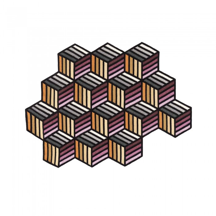 Tapis PARQUET Hexagon