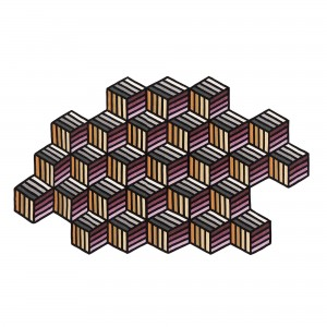 PARQUET Hexagon Carpet