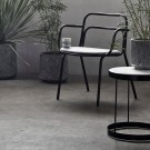 chaise OUT - Stone Grey