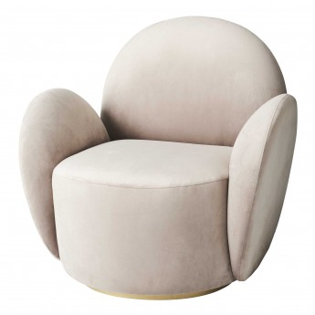 LADY armchair with swivel