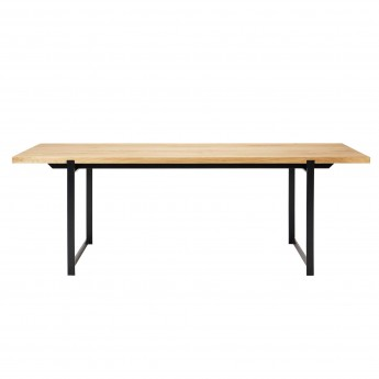 FRAME Dining table black frame
