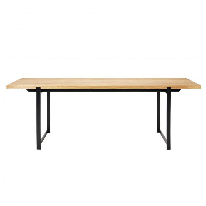 FRAME Dining table black frame