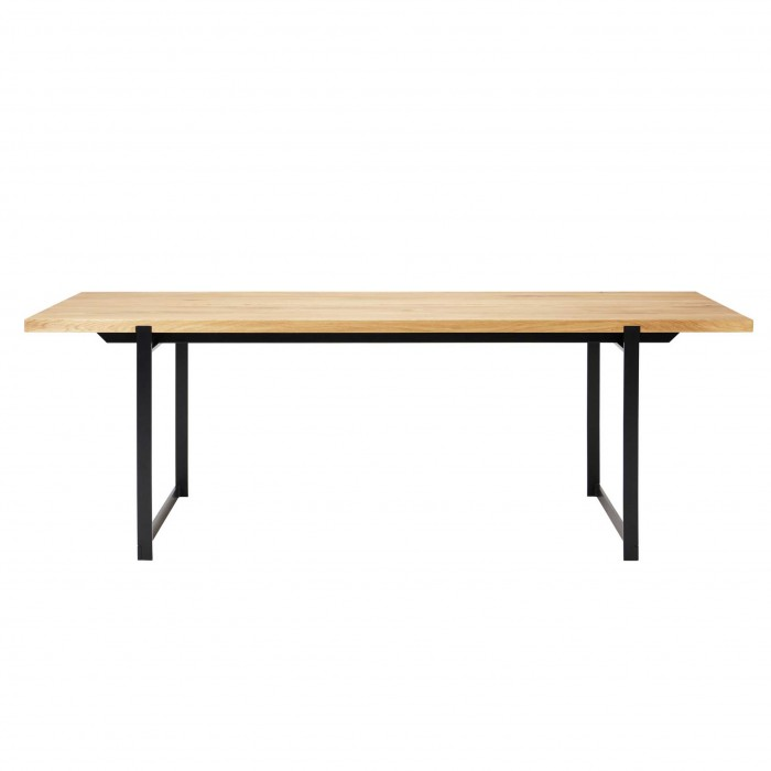 Table FRAME pieds noirs