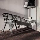 Chaise SLEEK - low/chêne