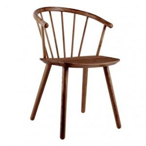 SLEEK Chair - Low/smoked oiled oak