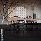 SLEEK Chair - Low/oiled oak