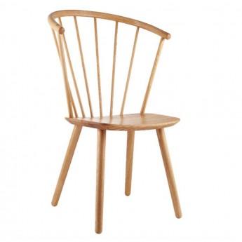 SLEEK Chair - high/oiled oak