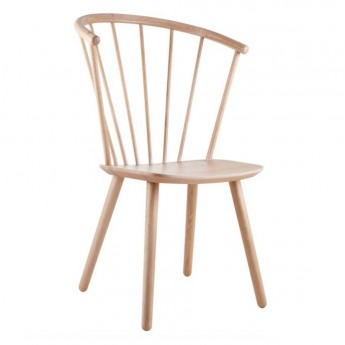 SLEEK Chair - high/oiled oak