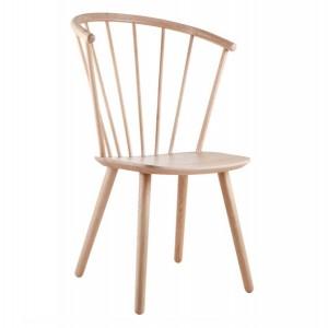 Chaise SLEEK - high/chêne blanchi