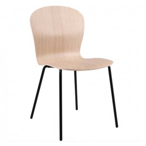 LINGUA white pigmented oak Chair