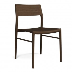 CHICAGO smoked oak Chair