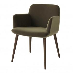 C3 smoked oak chair