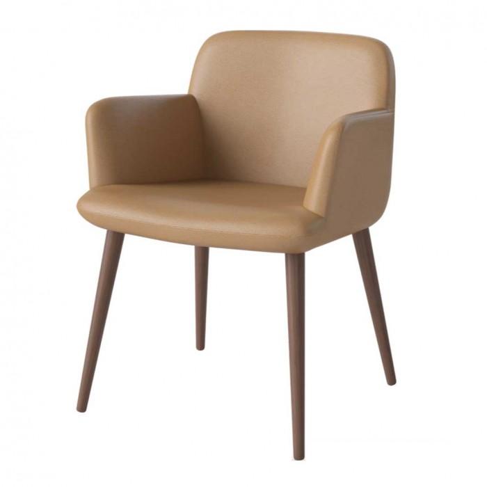 C3 oiled oak chair