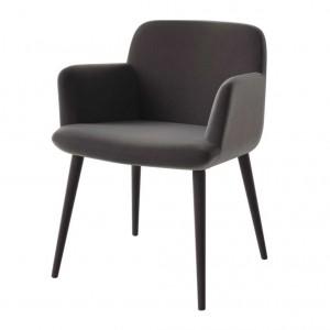 C3 upholstered legs chair