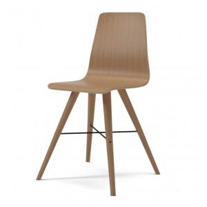 BEAVER oiled oak chair