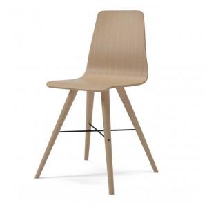 BEAVER white oiled oak chair