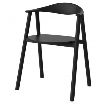 SWING Chair - Black oak