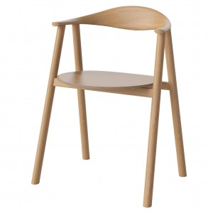 SWING Chair - Lacquered oak