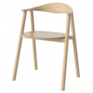 SWING Chair - White pigmentet lacquered oak