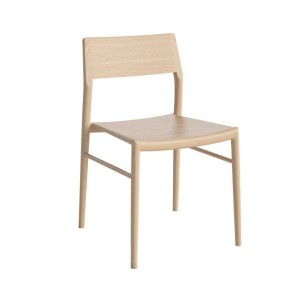 CHICAGO white oiled oak Chair
