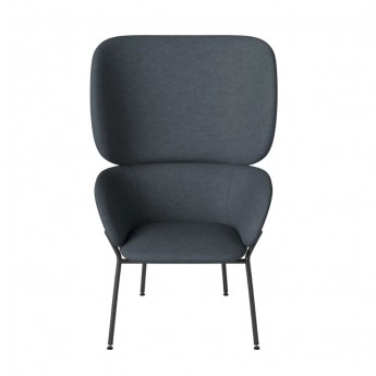 CARMEN armchair Nantes/dust blue