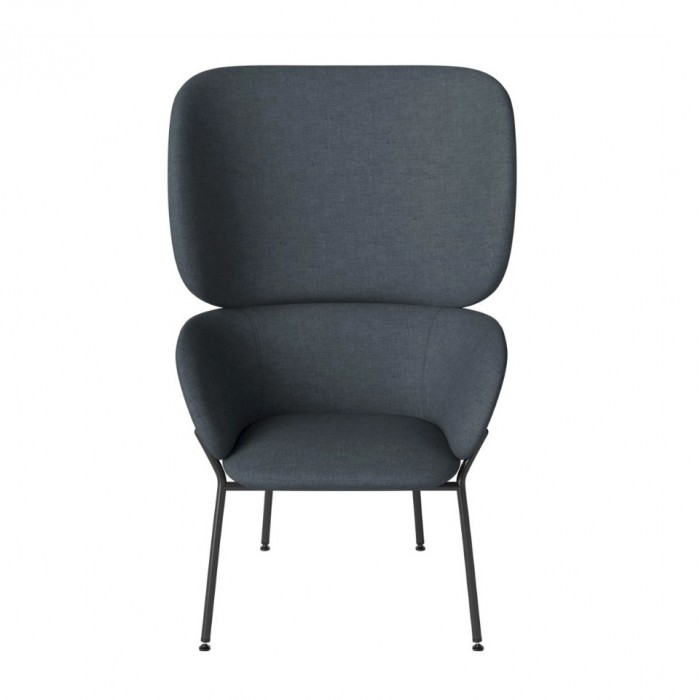 CARMEN armchair Nantes/dust blue