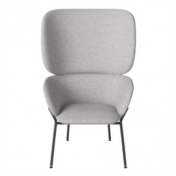 CARMEN armchair Nantes/light grey