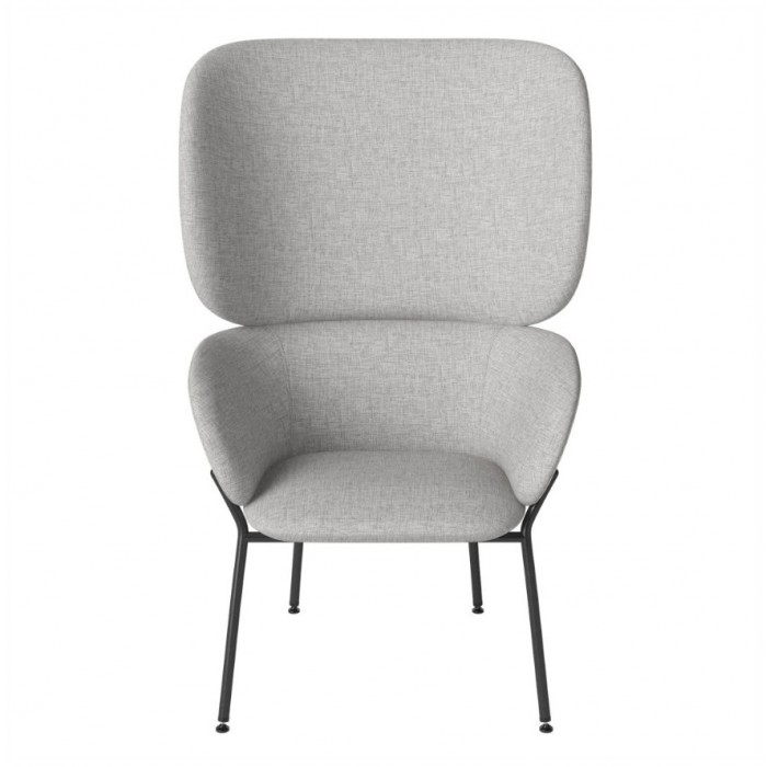 Fauteuil CARMEN Nantes/light grey