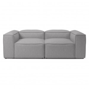 Canapé modulable COSIMA 2,5 places BAIZE/light grey
