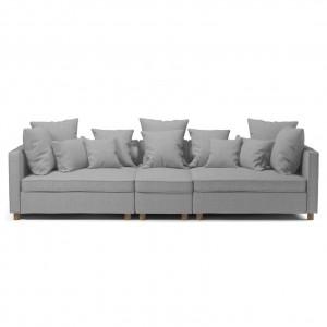 Mr BIG sofa - 3 units S - LONDON/light grey