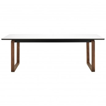 DT20 Table - White laminate, Walnut