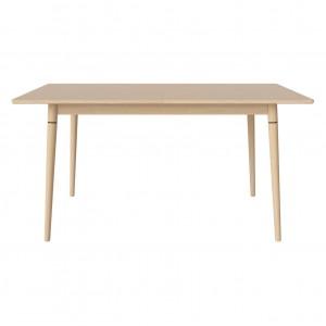 CONEY table white oiled oak