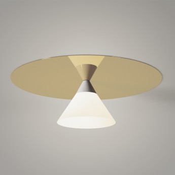 PLATE AND CONE ceiling