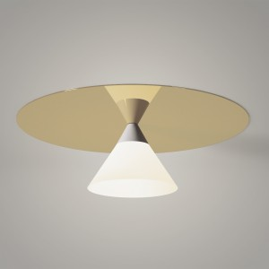 Plafonnier PLATE AND CONE