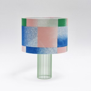 Lampe MAGIC tissu Vibration/bleu