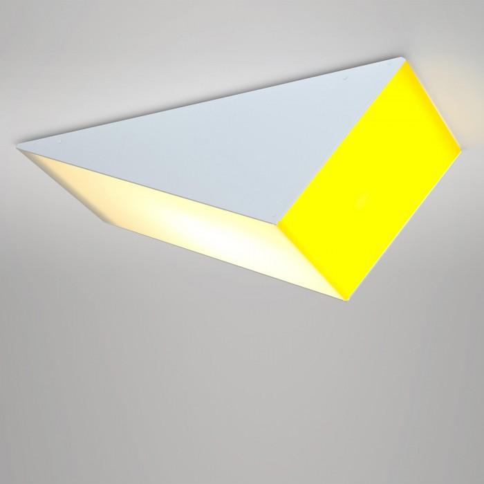 Plafonnier SOLID - Jaune et blanc